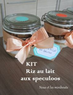 KIT Riz au lait aux spéculoos - Cadeau gourmand pour la maîtresse