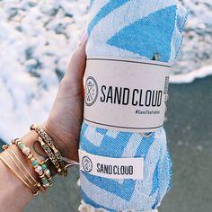 Love my Sand Cloud towel! 25% off with code KJAMIE25  Iris Beach Towel from Sand Cloud