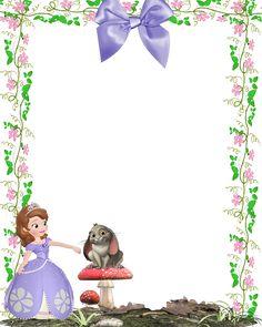 Princesa Sofía: Invitaciones para Imprimir Gratis.