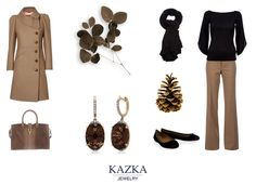 """Мы не хотим навязать вас классический образ, мы просто хотим напомнить, что классические украшения так же прекрасны. Главное, чтобы они вам нравились и подчеркивали глубину ваших глаз. Как и эти серьги, которые прекрасно подчеркнут карие глаза. Вам понравилось украшение? Тогда жмите """"нравится"""" и отправляйтесь к покупкам - http://kazka.ua/sergi/tsvet-vstavki-korichneviy/"""