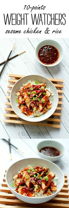 Weight Watchers Recipe Ideas for Dinner: Healthy Sesame Chicken Recipe - 10 Points