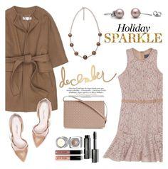 """Holiday Sparkle"" by pearlparadise ❤ liked on Polyvore featuring Lanvin, STELLA McCARTNEY, Oscar de la Renta, Bobbi Brown Cosmetics and Bottega Veneta"