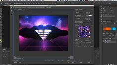 How to Create a Retro Style Animated GIF in After Effects and Photoshop Part 2