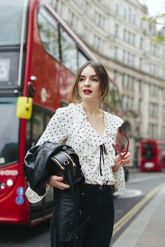 (Jacket: Oh My Love , Top: Topshop , Jeans: ASOS , Bag: Radley, Shoes: ASOS , Sunglasses: Urban Outfitters , Lipstick: Armani Lip M...