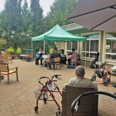 Get your tuxedo's, bow ties and nicest dress on! Our residents at Gilmore Gardens Retirement Residence in Richmond recently enjoyed a classy afternoon in our beautiful patio with the CARC String Quartet 🎻😀 #vervecares #community #stringquartet #music Wellness Activities, String Quartet, Emergency Response, Senior Living, New Tricks, Bow Ties, Retirement, Gardens, Classy