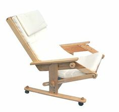 $350 Horndove's Zero Gravity Chair in the Full Zero Gravity Position.   In this position, when your calves are slightly higher than your heart, blood pressure is lowered.  The seat/back support system is composed of a series of 19 hardwood slats that conform to and support the natural curves of your body. This position also drastically reduces pressure on your spinal discs. Nothing mechanical about our Zero Gravity Chairs, all movement is related to your personal center of gravity. Once…