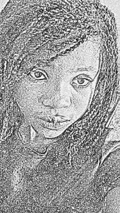 A face describing sadness, it is all written on hrr face