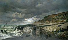 La Pointe de la Hève at Low Tide (1865), Claude Monet