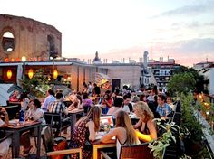 Gau & Café, The best terraza in Madrid: Follow This Itinerary For Your Perfect Day In Madrid http://jetsettimes.com/2015/06/24/follow-this-itinerary-for-your-perfect-day-in-madrid/