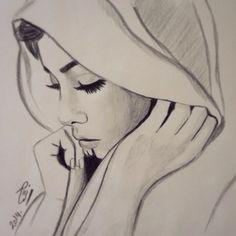 #my_drawing حجاب ❤️