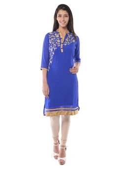Find wide range of fashion jewellery, imitation, bridal, artificial, beaded and antique jewellery online. Buy imitation jewellery online from designers across India. Antique Jewellery Online, Long Kurtis, Royal Blue Color, Imitation Jewelry, Ethnic, Cover Up, Cold Shoulder Dress, Fashion Jewelry, Saree