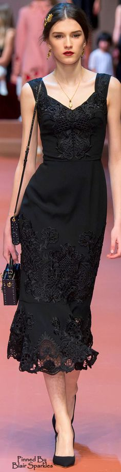 Fall 2015 RTW Dolce & Gabbana ♕♚εїз   BLAIR SPARKLES
