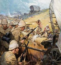 1900 - The Boer War The Battle of Spion Kop.British Vs Dutch fighting over spoils of war,.The defeated Zulu Lands of South Africa. Colonialism was a WAR on Aficans. Lest We Forget British Soldier, British Army, Military Art, Military History, Man Of War, British Colonial, Art Graphique, African History, British History