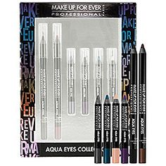 MAKE UP FOR EVER - Aqua Eyes Collection  #sephora