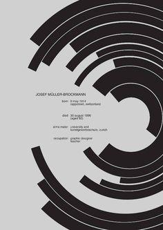 Josef Müller-Brockmann Biography - Josef Müller-Brockmann was a celebrated twentieth century Swiss graphic designer and teacher. He studied design, architect and history of art. Moreover, he