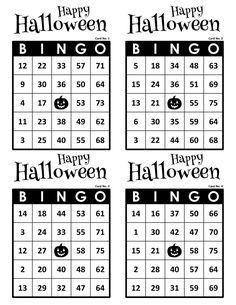 Halloween Bingo Cards, 1000 cards, 4 per page, immediate pdf download Halloween Bingo Cards, Christmas Bingo Game, Fun Christmas Party Games, Custom Bingo Cards, Bingo Calls, Bingo Patterns, Email Programs, Generators, I Am Game