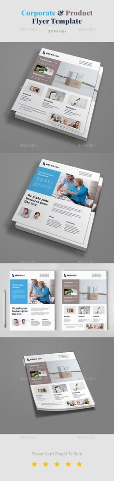 advertisement, catalogue, clean, clothing, collection, design - sell sheet template