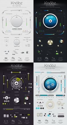 Knóbz: all 4 volumes by Alexey Kolpikov, via Behance
