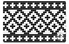 Tapestry Crochet Patterns, Crochet Motifs, Crochet Chart, Mosaic Patterns, Loom Patterns, Filet Crochet, Stitch Patterns, Knitting Charts, Knitting Stitches