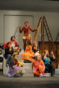 SCC Musical Theater - Godspell 2012