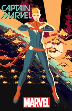 The new Captain Marvel series will be drawn by Kris Anka, and written by the Agent Carter show runners, Tara Butters and Michele Fazekas.