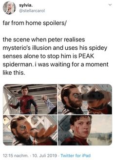 What are you talking about? That's his Peter Tingle and you can't tell me ot… Marvel Dc Comics, Marvel Avengers, Marvel Jokes, Avengers Memes, Marvel Funny, Disney Marvel, Shane Mendes, Dc Movies, Tom Holland