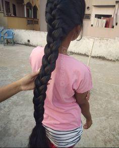 Cut My Hair, Your Hair, Down Hairstyles, Braided Hairstyles, Indian Long Hair Braid, Ponytail Updo, Long Black Hair, Super Long Hair, Braids For Long Hair