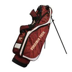 Virginia Tech VT Hokies Nassau Stand Golf Bag