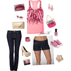 Glitter day/night, created by jessica-ord on Polyvore