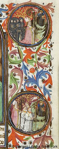 Book of Hours, MS M.64 fol. 128r - Images from Medieval and Renaissance Manuscripts - The Morgan Library & Museum