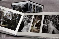 Queensberry Wedding Album Overlay Matted Emma Hughes Photography Wedding Album Wedding