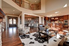 Plan 73342HS: Craftsman Beauty With 2-Story Great Room