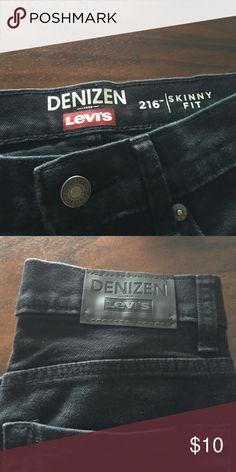 Boys Levis Denizen Black boys jeans in perfect condition size 10/12 Levi's Jeans Straight Leg
