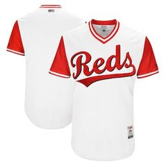 4388bc976 Cincinnati Reds Majestic 2017 Players Weekend Authentic Team Jersey - White  Nhl Jerseys