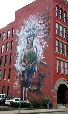 Mural in Rochester NY © copyright Mike Kraus