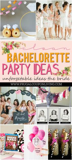 Some of the best Bachelorette Party Ideas and themes for a bride to be and her bridesmaids. Clean hen night ideas to create life long memories with friends.