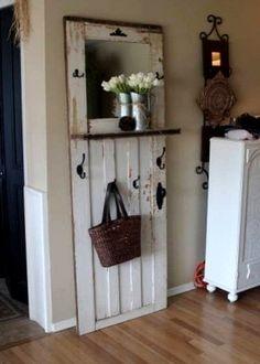 Dishfunctional designer: nya tar på gamla dörrar: Bärgade Dörrar…
