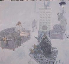 Ruprecht Von Kaufmann absolutely amazing painter and gentle giant...