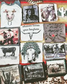 Fun western tees from The Wacky Wagon!