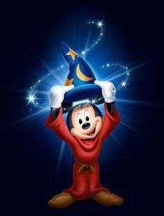 The disney fantasia fantasmic mickey mouse Disney Mickey Mouse, Disney Pixar, Mickey Mouse E Amigos, Mickey Mouse And Friends, Disney Cartoons, Disney Animation, Disney Love, Disney Characters, Fantasia Disney