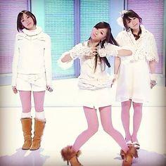 "kashiyuka steps out during a ""babycruisinglove"" tv performance"