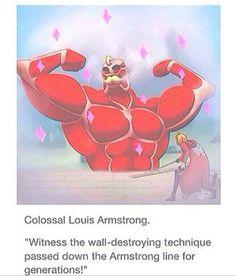Attack on Titan/Fullmetal Alchemist. Armstrong no