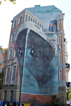 STREET ART UTOPIA » We declare the world as our canvasstreet_art_wall_44_3d » STREET ART UTOPIA