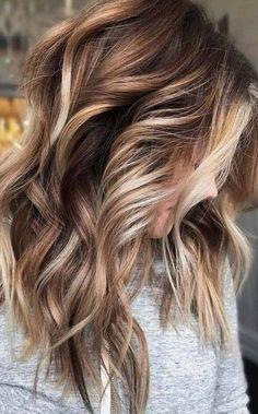 Color Ombre Hair, Blonde Ombre Hair, Brunette Color, Balayage Brunette, Hair Color Balayage, Brunette Hair, Fun Hair Color, Brown Balayage, Hair Color And Cut