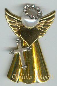 Cindy Angel Pin - $19.95
