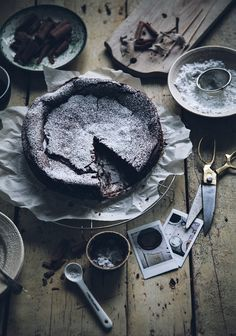 too gorgeous for life - Call me cupcake: Kladdkaka - Swedish chocolate cake