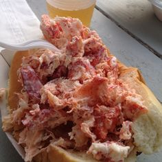 Best Lobstah (lobster) Roll on Cape Cod, courtesy of the Raw Bar in the Popponessett Marketplace, New Seabury, Ma