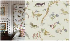 Mythical Creatures Fabric by Kit Kemp