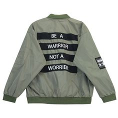 Chicnova Fashion Warrior Print Loose Bomber Jacket (2715 RSD) ❤ liked on Polyvore featuring outerwear, jackets, coats & jackets, coats, print jacket, zip jacket, bomber jacket, blouson jacket and zip pocket jacket