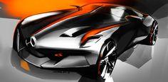 Car design sketches #5 by Grigory Butin